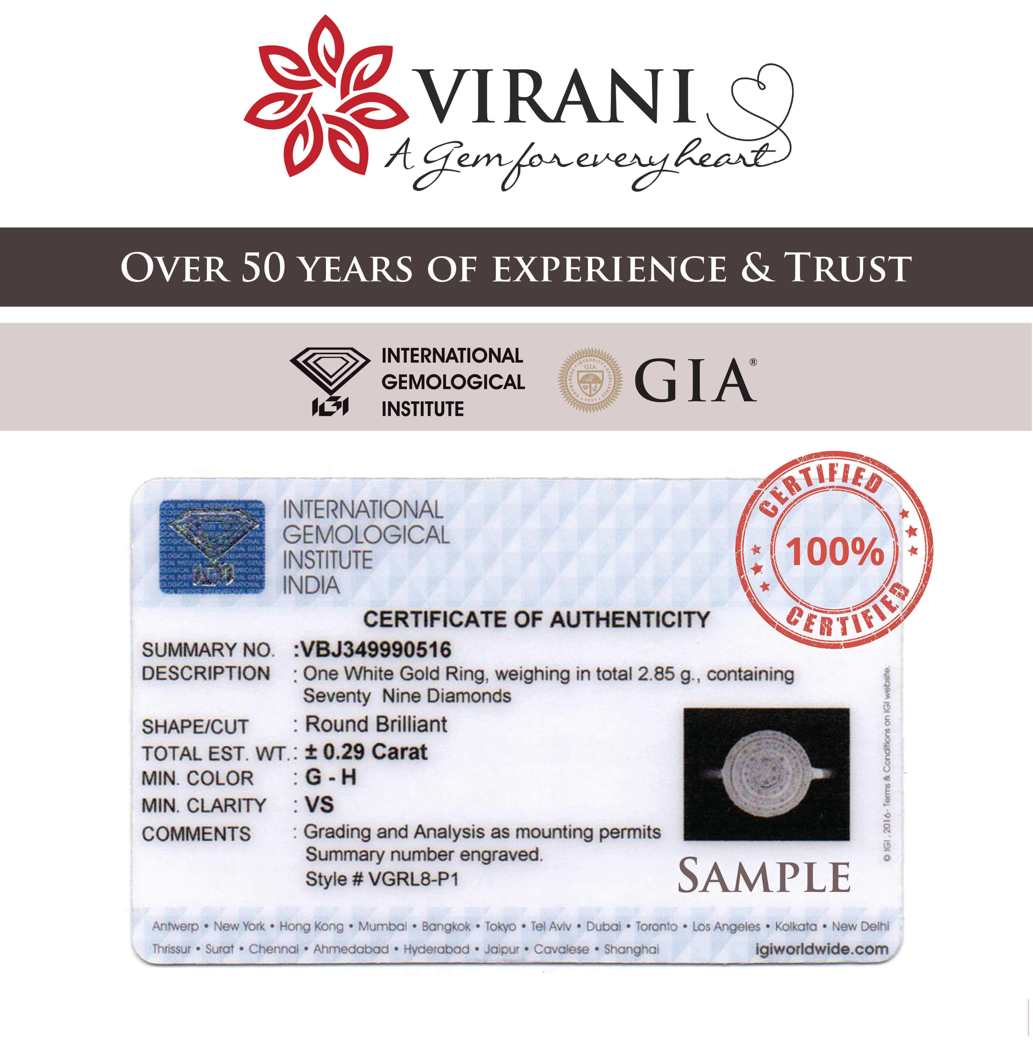 Viranigems -Diamond Jewellery Online